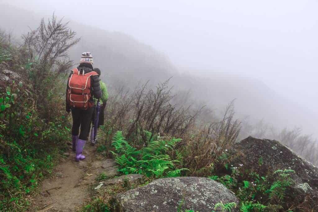 Sapa in vietnam is very misty but still great for trekking