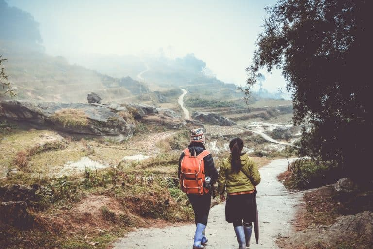 Hiking and enjoying nature, while you immerse in the lifestyle of the hill tribes. The most prominent attraction in the area around Sapa is Fan Si Pan, which is the highest mountain in Vietnam. It's only 19km from town. This may seem like a short distance, but the trek is not easy; the rough terrain and unpredictable weather present some difficulties, specially in a rainy day, and endurance is a must.