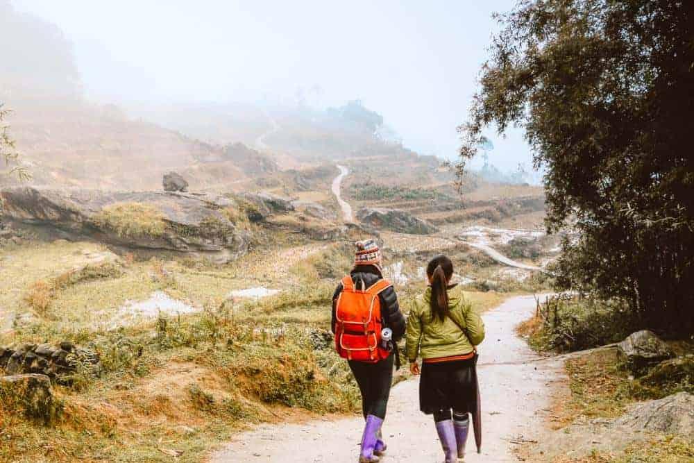 Trekking and homestay in Sapa