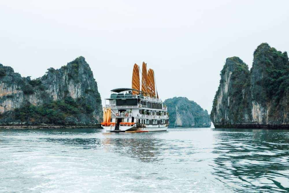 Junk Boat on Halong Bay