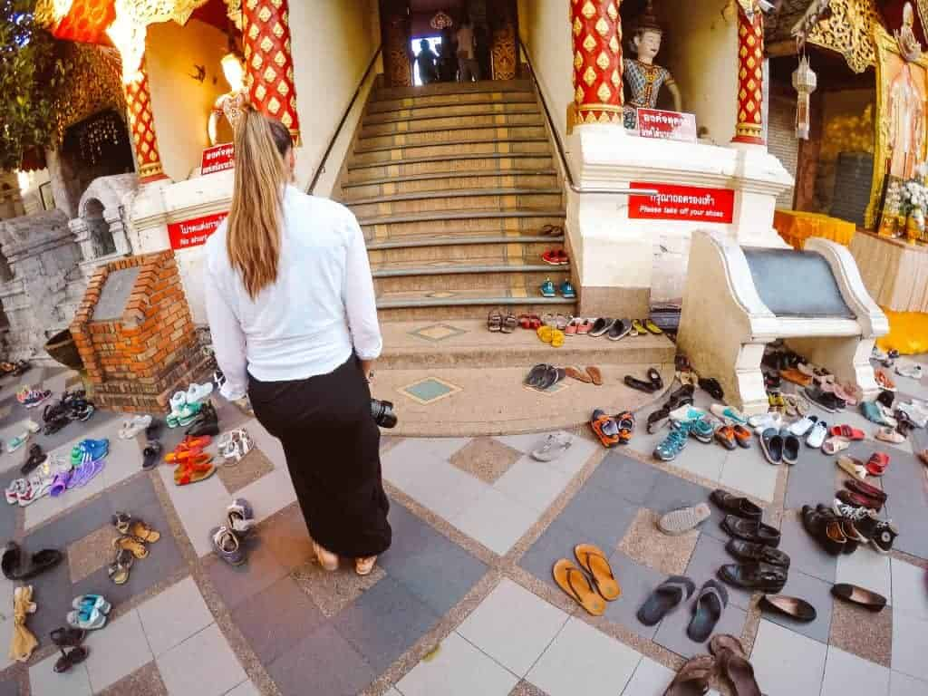 Responsible and ethical travel tips in religious sites