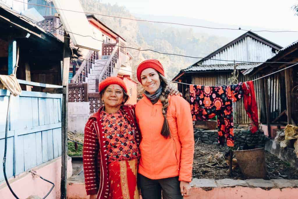 Ethical and responsible travel supports local homestay