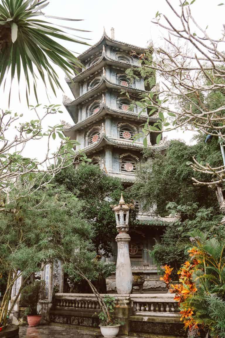 X Loi Pagoda em Marble Mountains