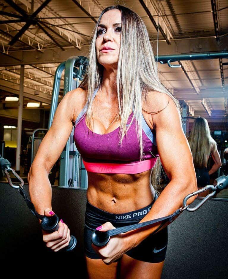 Full body band workout