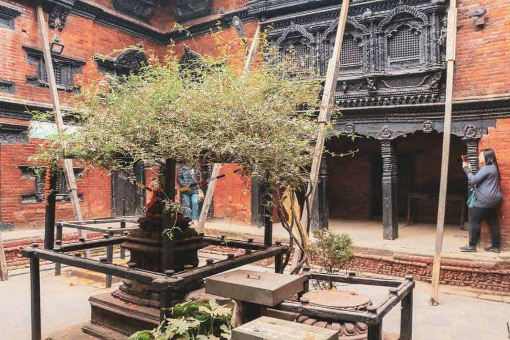 Kumari Palace in Kathmandu