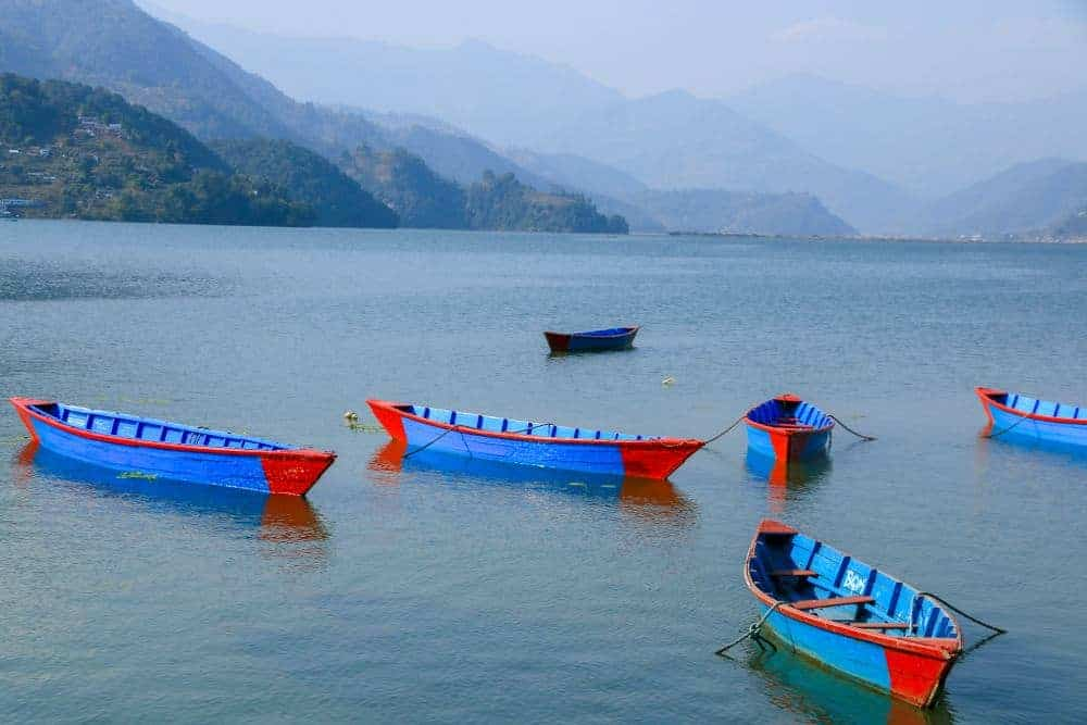 Pokhara is a nice laid-back city, and also offers a large variety of outdoor sports