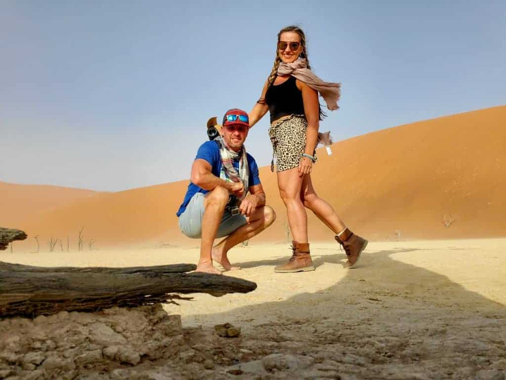Traveling as a couple in Namibia