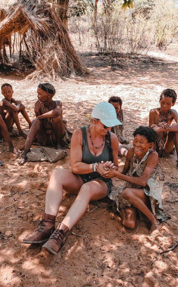 Namibia couple travel