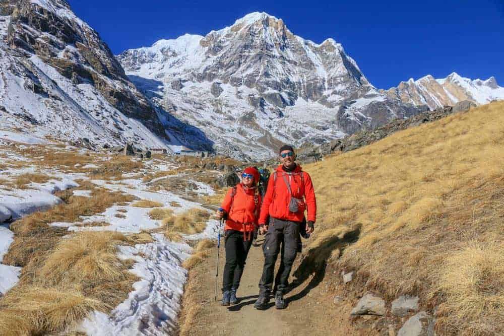 Nepal - We trainned for 2 months together to hike the Himalayas during our vacation