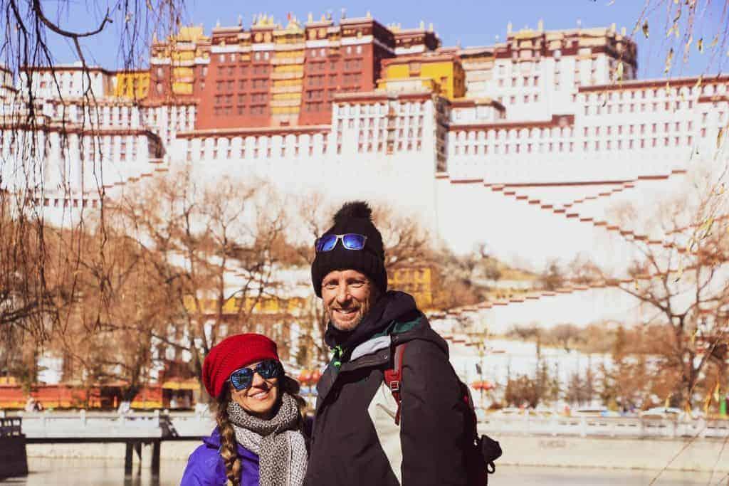 couple trip to Tibet
