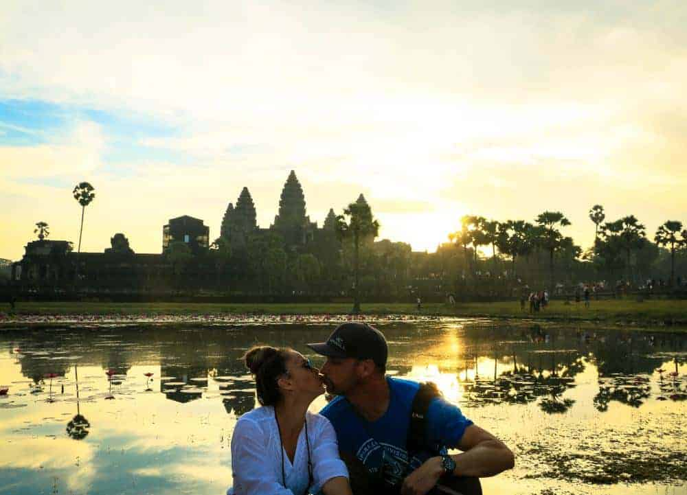Angkor Wat in Cambodia - Looks romantic when you can cut hundreds of people from your photo