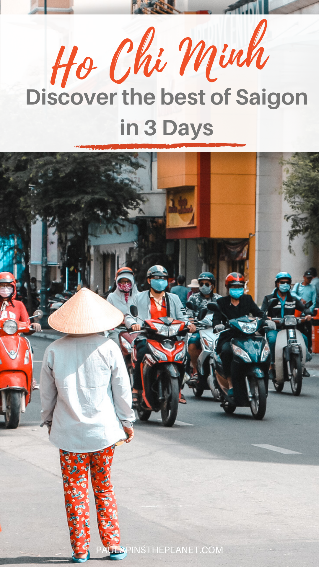 Ho Chi Minh City 3 days itinerary