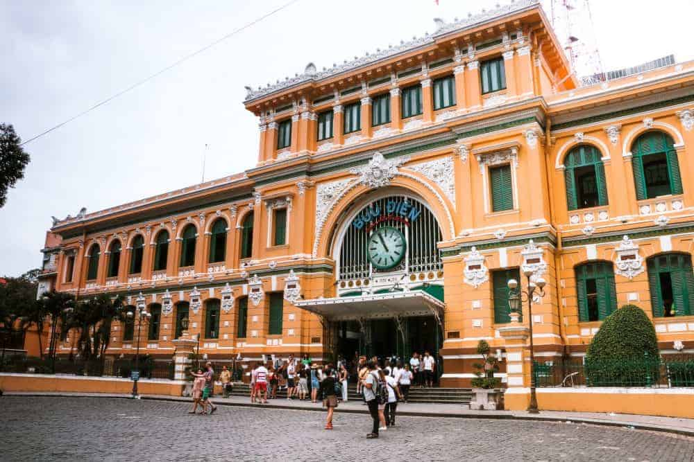 The old post office is a great site to visit during your 2-week trip itinerary