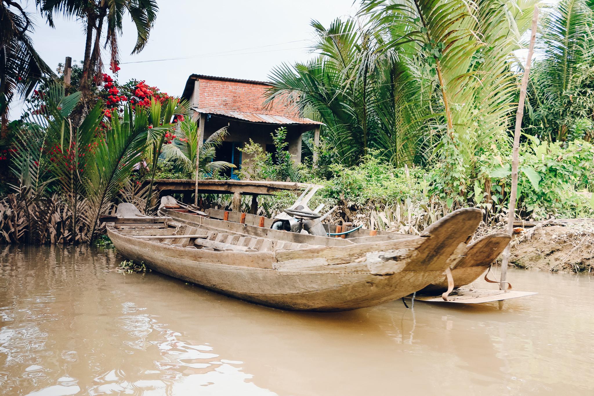 Boat Tour in Mekong Delta Vietnam