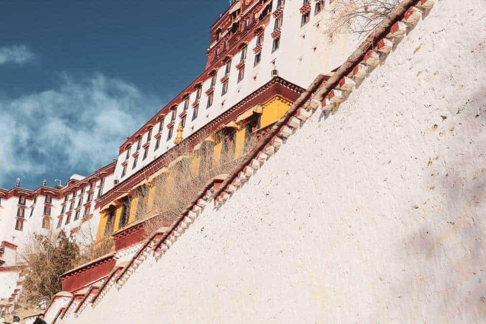 lhasa tibet potala palace