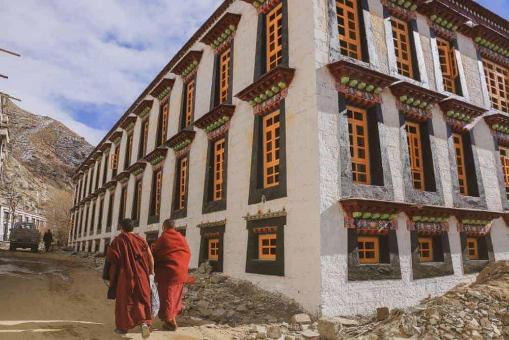 lhasa tibet monestary monks