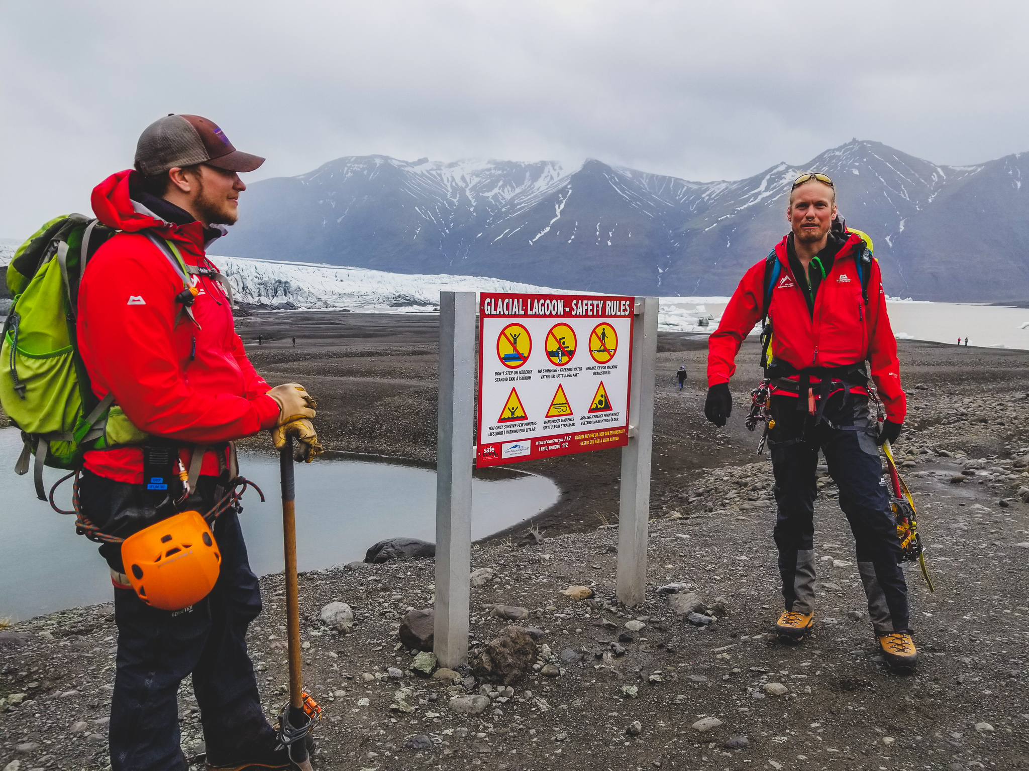Iceland glacier guides - Icelandic Mountain Guides
