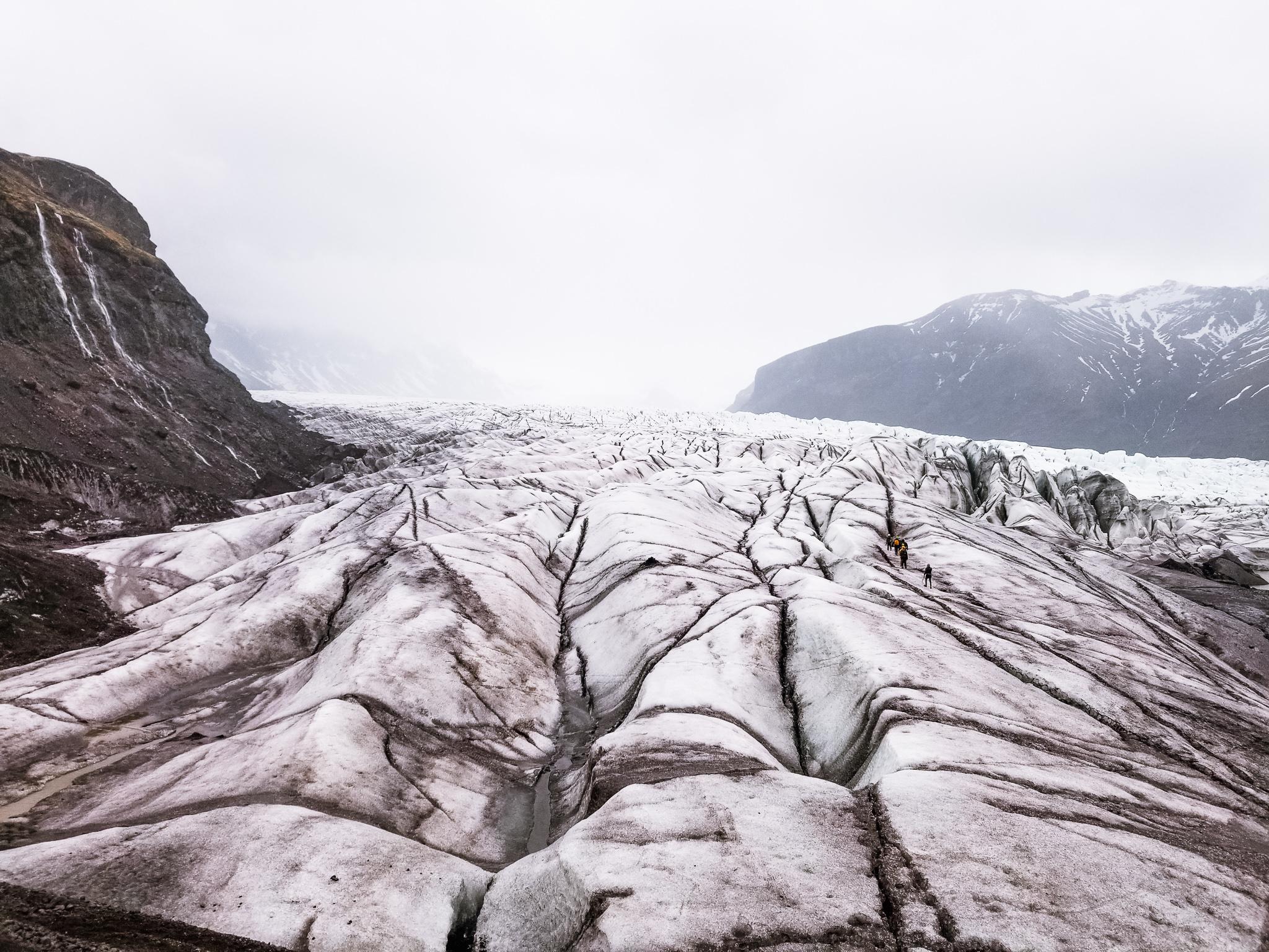 Vatnajokull National Park Ring Road driving