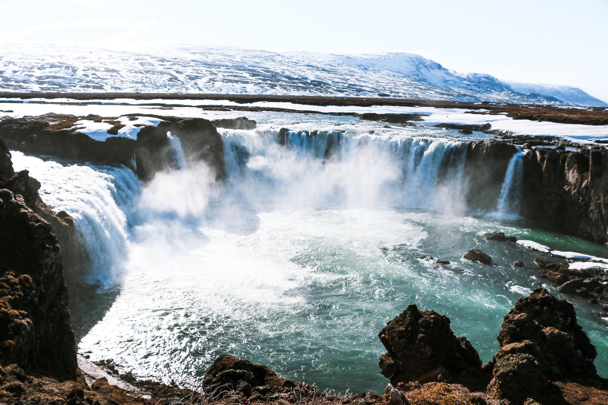 iceland waterfall self-drive