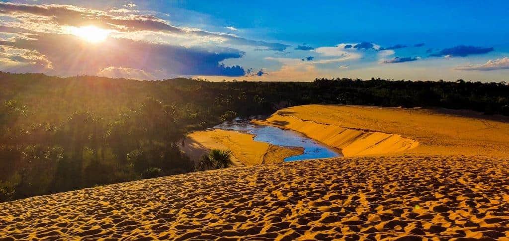 dunes adventure in nature Brazil