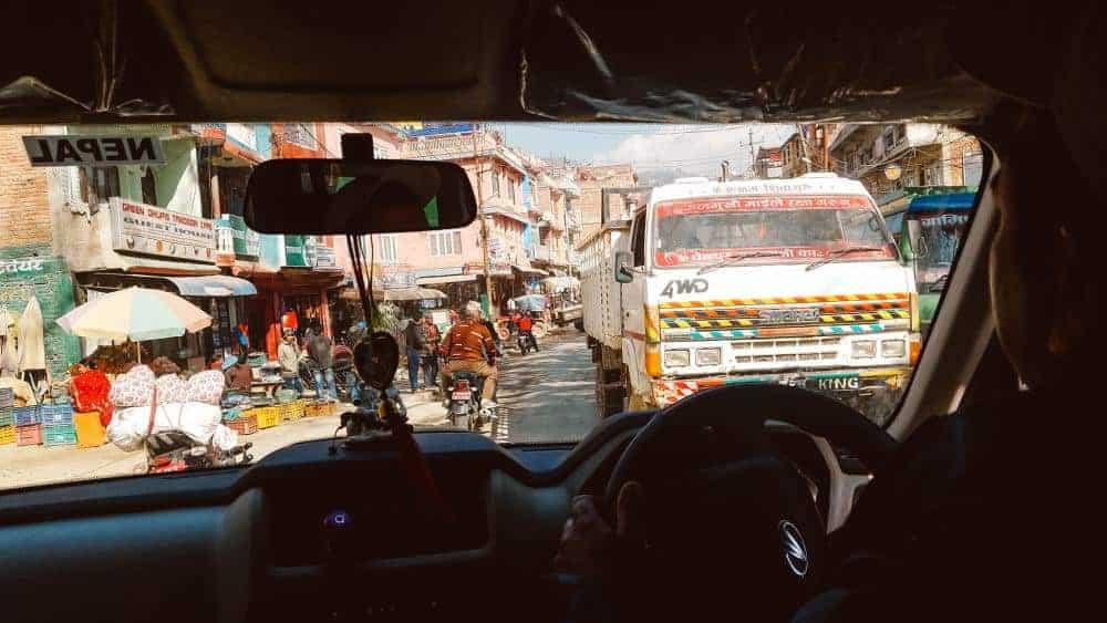 Nepal village drive