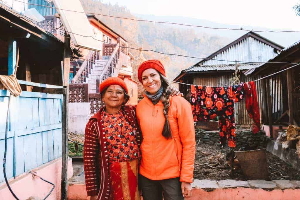 Nepal responsible travel homestay Nepal