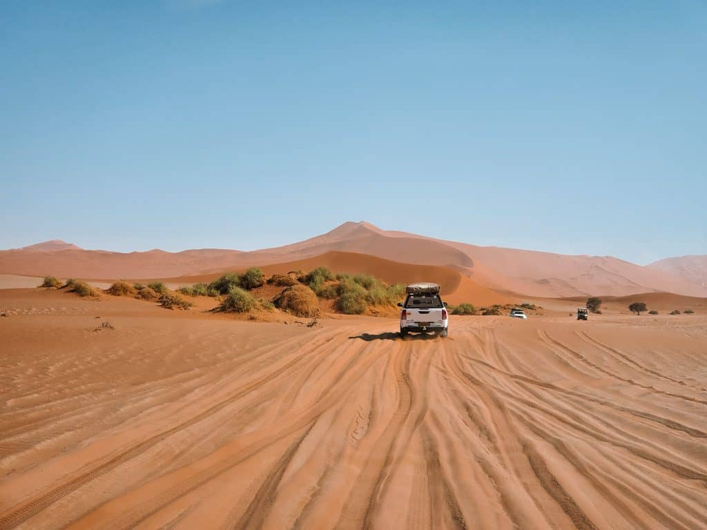 touring Namibia self-drive