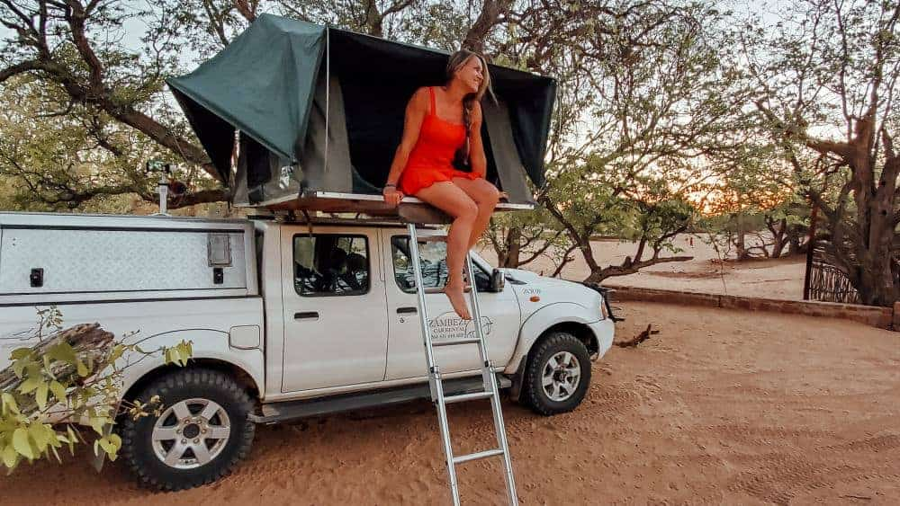 Namibia self-drive and camping itinerary