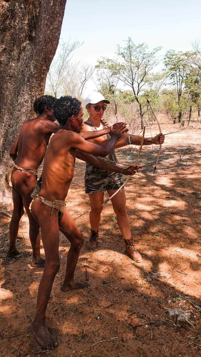 Namibia a visit to the San people itinerary
