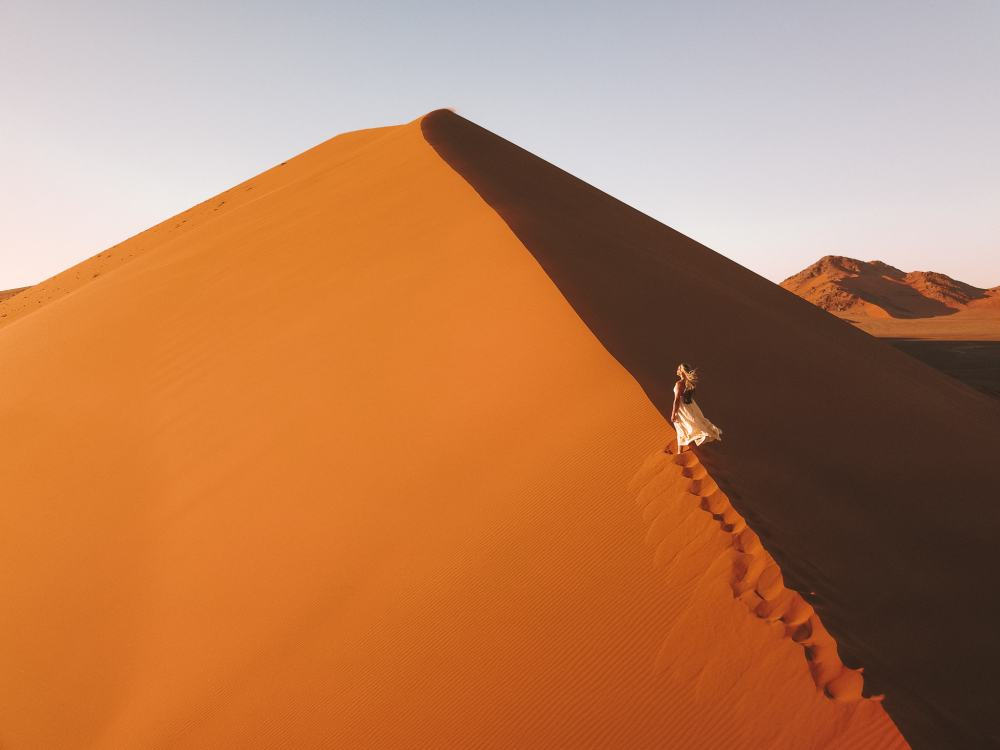 Namibia itinerary in Sossusvlei