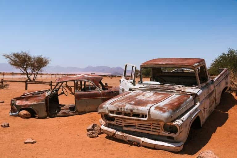 Namibia road trip in the desert