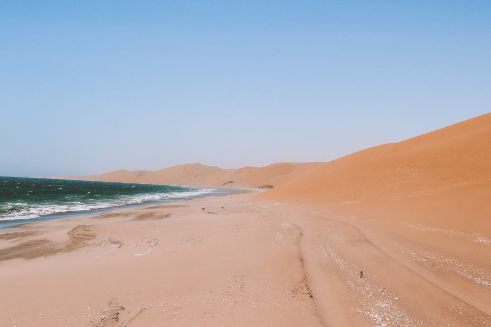Namibia amazing self-drive in Sandwich Harbour