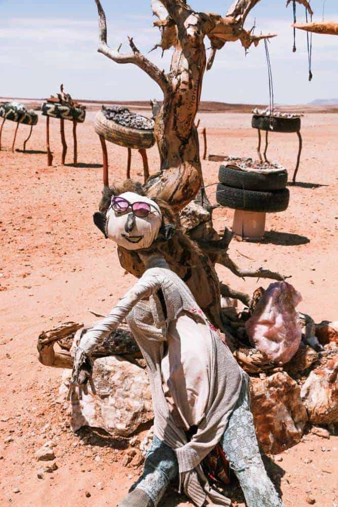 Namibia desert road trip