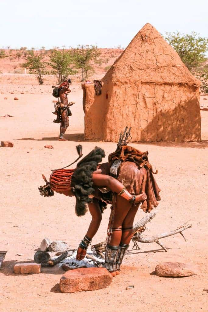 Road trip in Namibia and the Himba