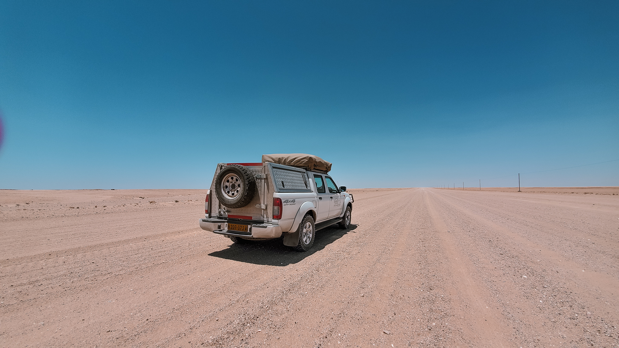 The vast roads of Namibia to inspire a road trip