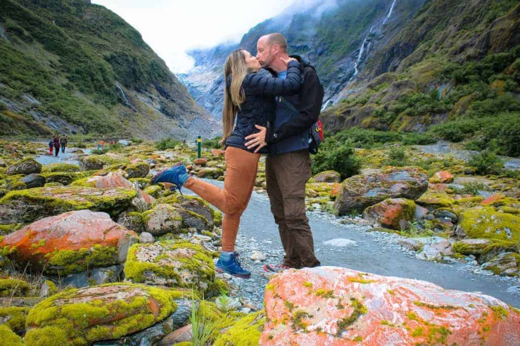 Traveling together in New Zealand