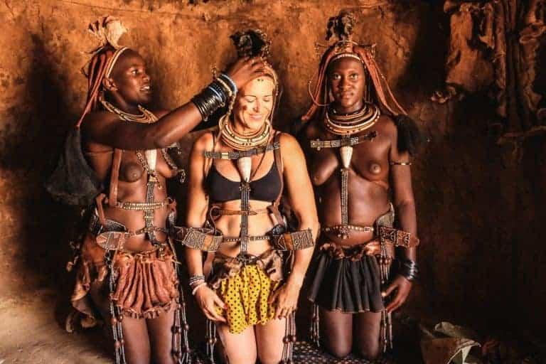 Himba in Namibia