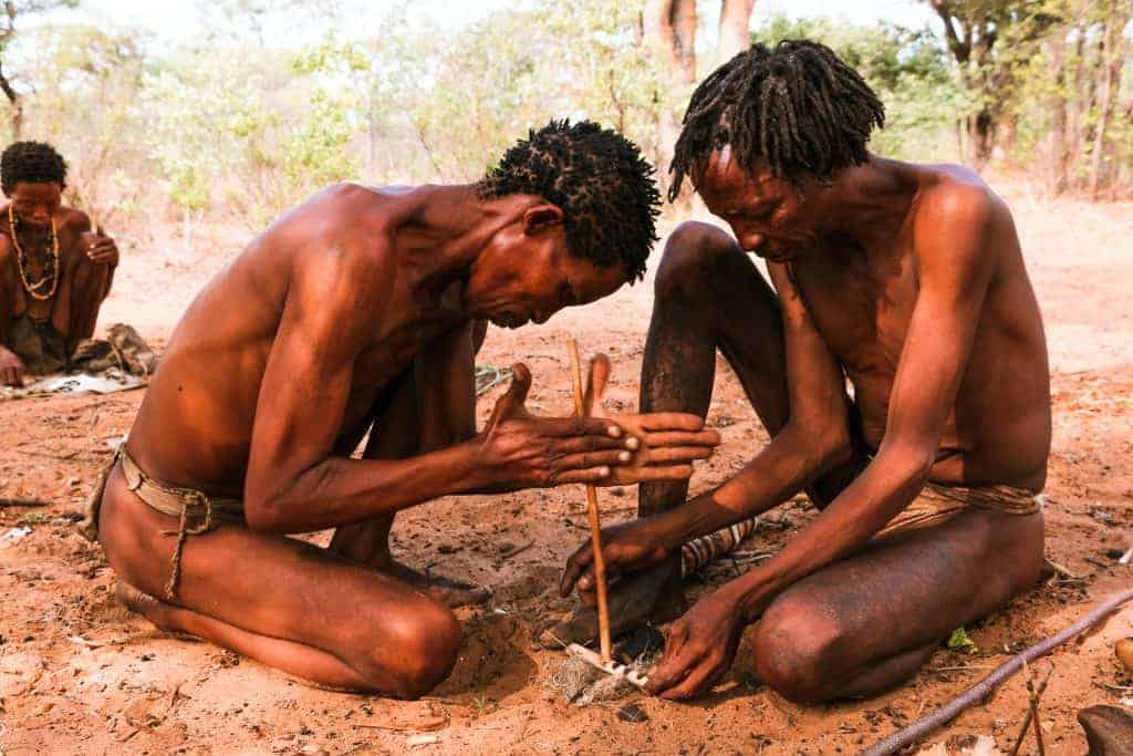 The San People inspires to travel to Namibia
