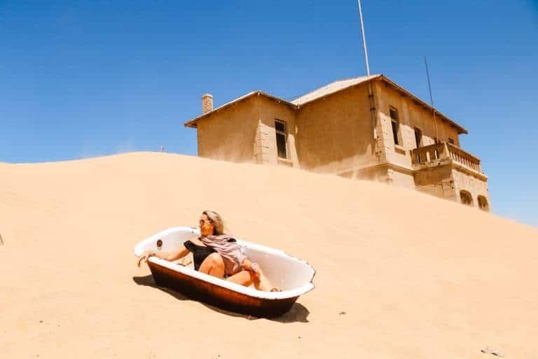 Kolmanshop makes we feel inspired to travel to Namibia