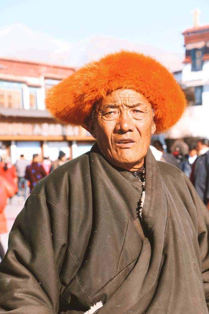 Local Tibetan in Lhasa