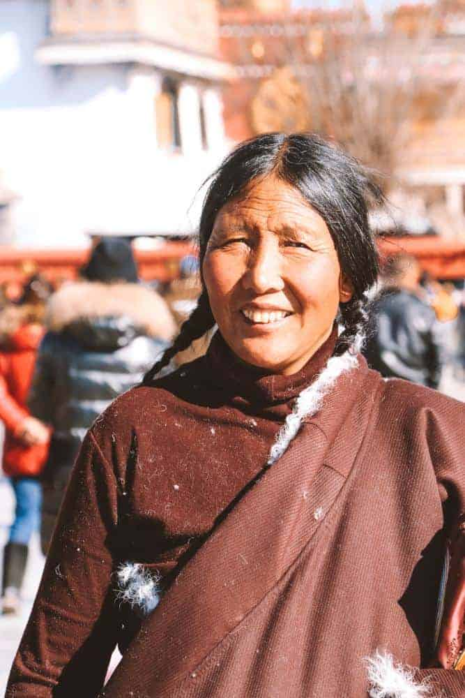 Beautiful people of Tibet