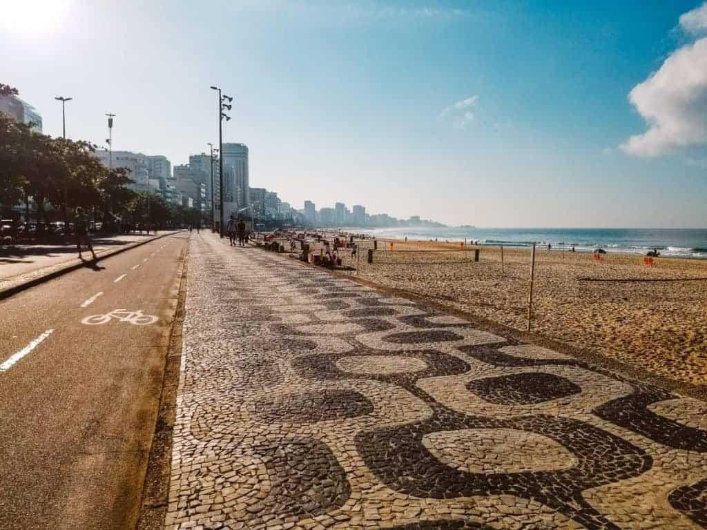 Copacabana beach Interesting facts