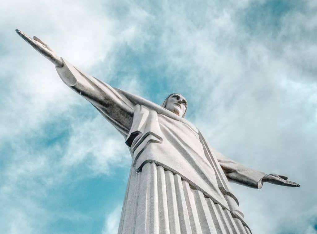 Christ the Redeemer is a landmarks in Rio de Janeiro