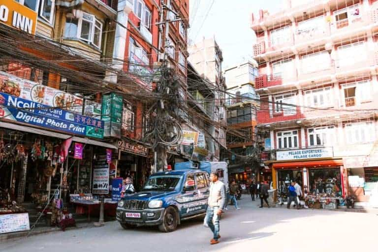The electricity in Nepal