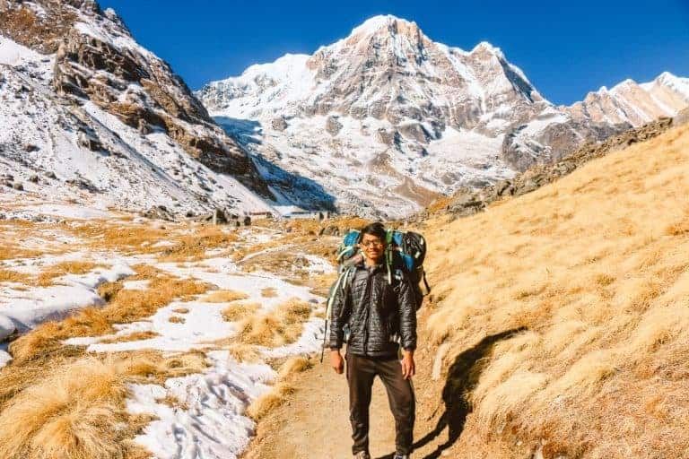 Hire a porter if you are hiking in Nepal