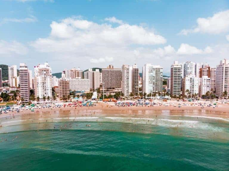Guaruja is one of the best sao paulo beaches