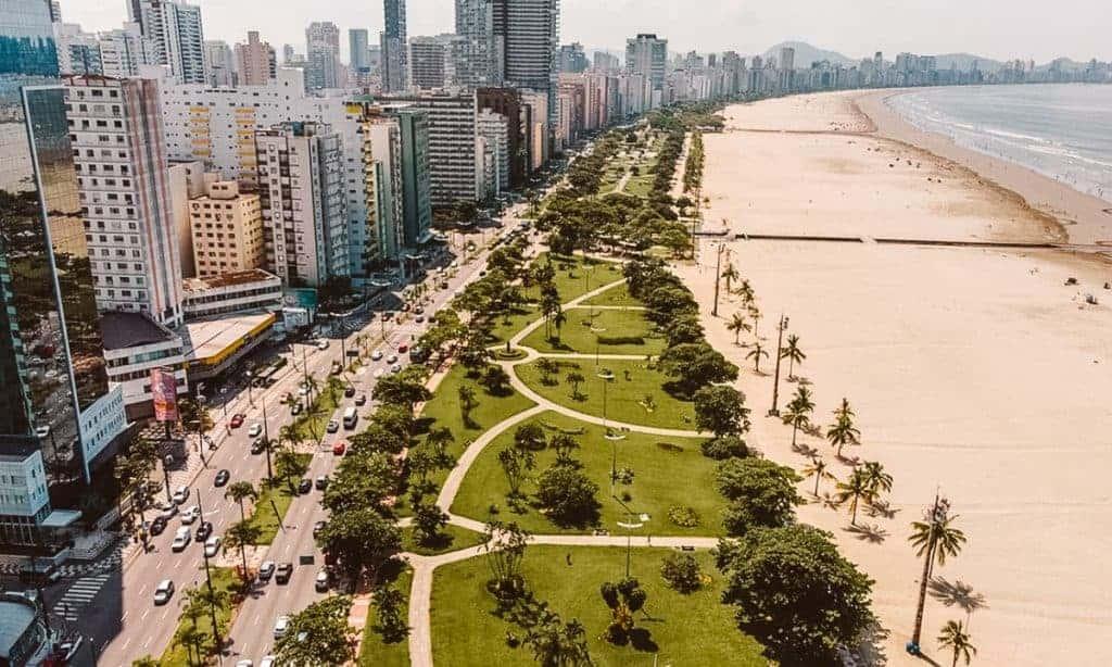 Santos is one of the sao paulo beaches