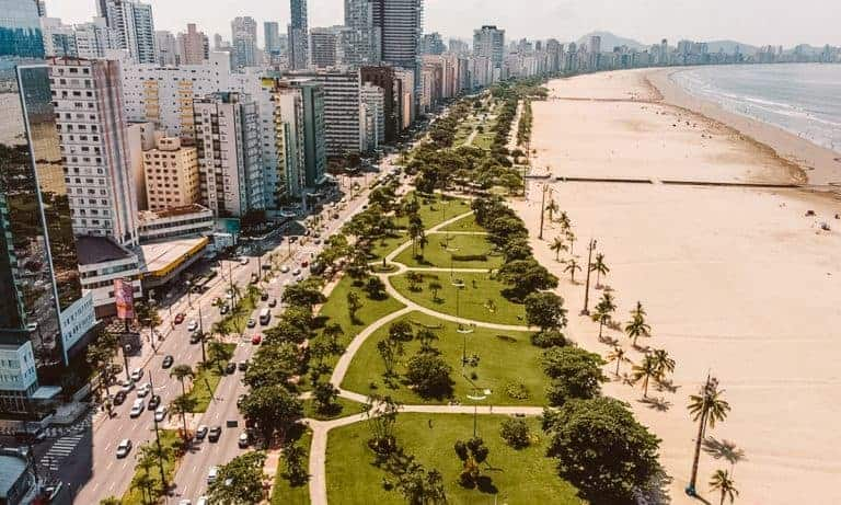 Santos is one of the sao paulo beaches