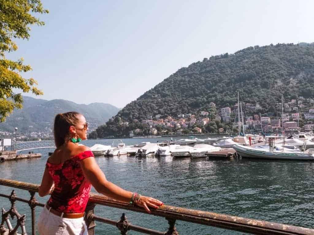 Milan day trips lake Como