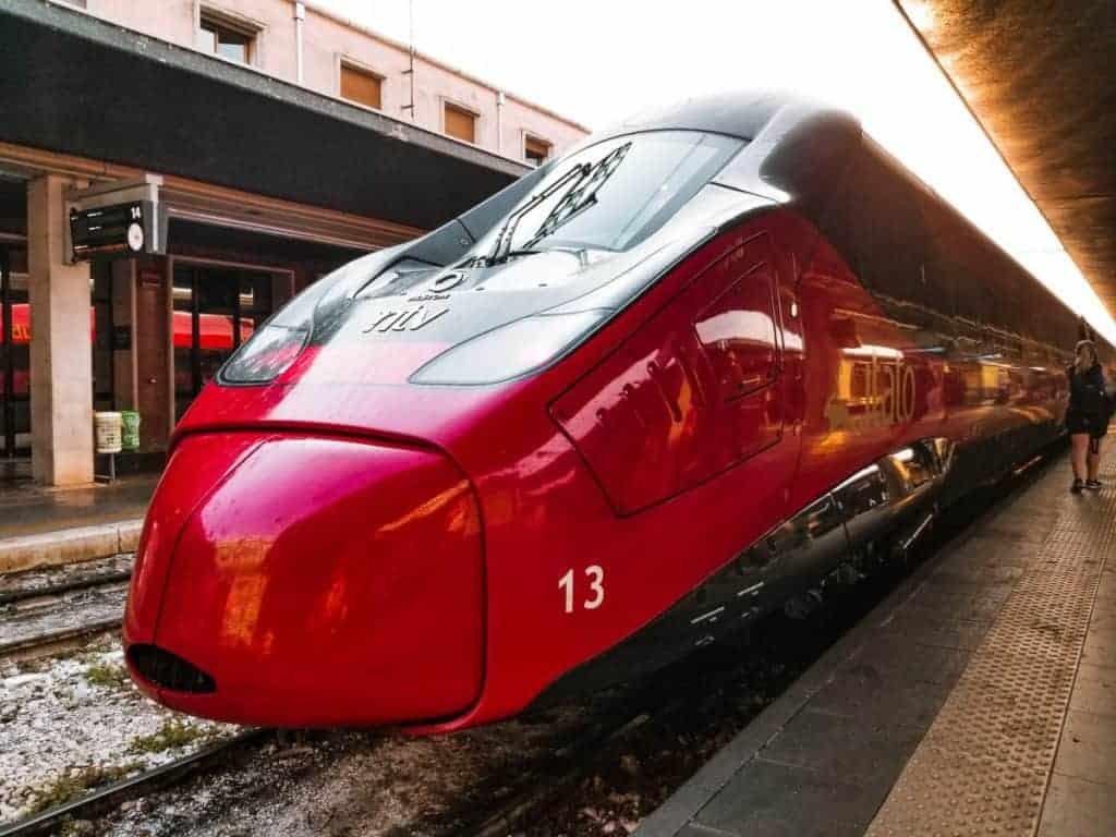 Milan to Como train